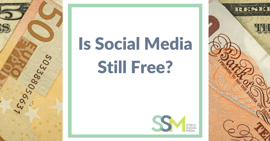 Is social media still free?